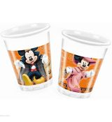 Poháre halloween Mickey 8ks/bal 200ml