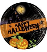 Party Taniere Happy Halloween 8ks/bal. 19,5 cm