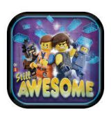 Taniere Party Lego Movie 8ks./bal
