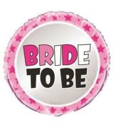 Fol. balon BRIDE TO BE - 45cm