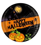 Party Taniere Happy Halloween 8ks/bal.  23 cm